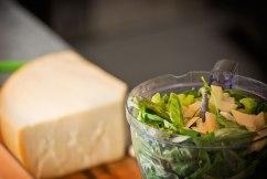 Preparing Pesto