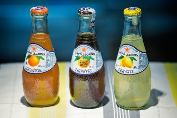 Aranciata rossa, Chinotto and Limonata San Pellegrino