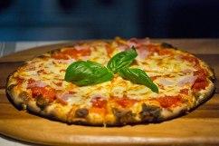 Margherita: tomato, mozzarella and fresh basil